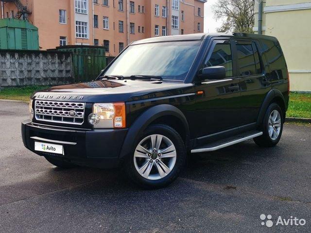 выкуп автомобиля Land Rover Discovery в СПБ